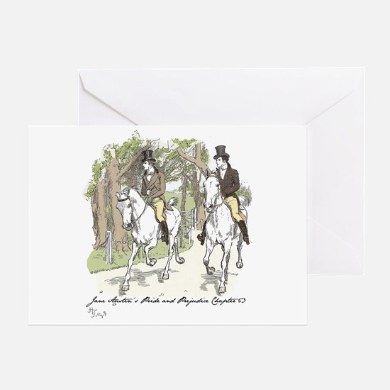 pride and Prejudice Ch 53 Greeting Card