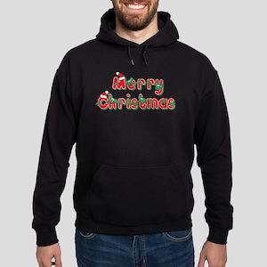 Merry Christmas Hoodie (dark)