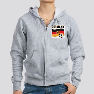 Germany Women's Zip Hoodie