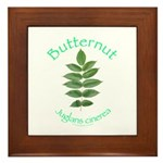Butternut Framed Tile