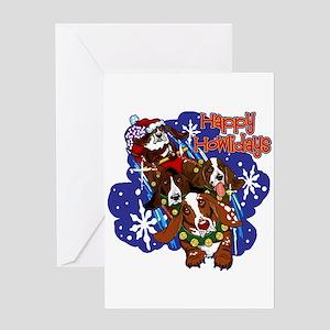 Santa Paws Greeting Card