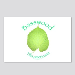 Basswood Leaf 2 Postcards (Package of 8)