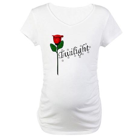 Twilight Rose Maternity T-Shirt