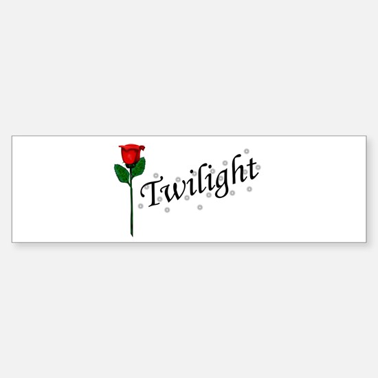 Twilight Rose Bumper Bumper Bumper Sticker