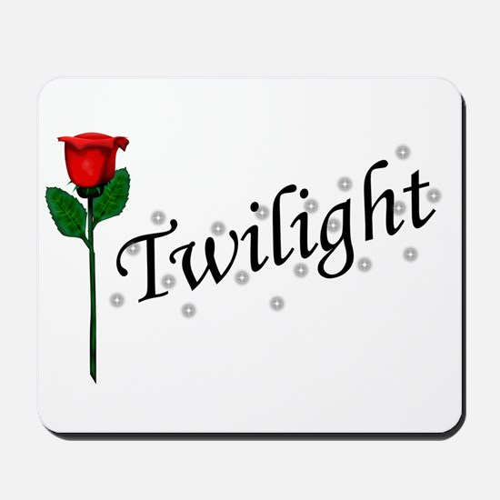 Twilight Rose Mousepad