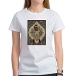Ornate Vintage Pinup Cowgirl Women's T-Shirt