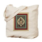 Ornate Vintage Pinup Cowgirl Tote Bag