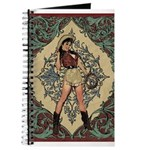 Ornate Vintage Pinup Cowgirl Journal