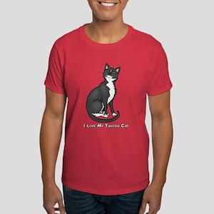 Love My Tuxedo Cat Dark T-Shirt