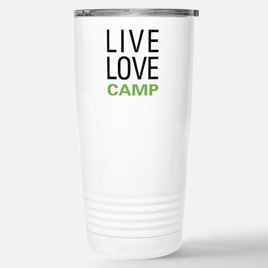 Live Love Camp Stainless Steel Travel Mug