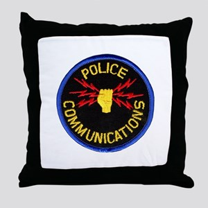 Police Communications Throw Pillow