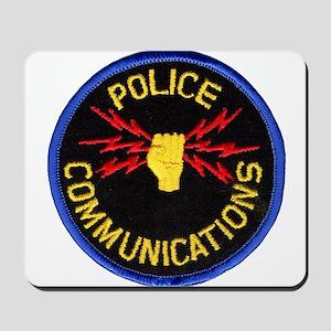 Police Communications Mousepad