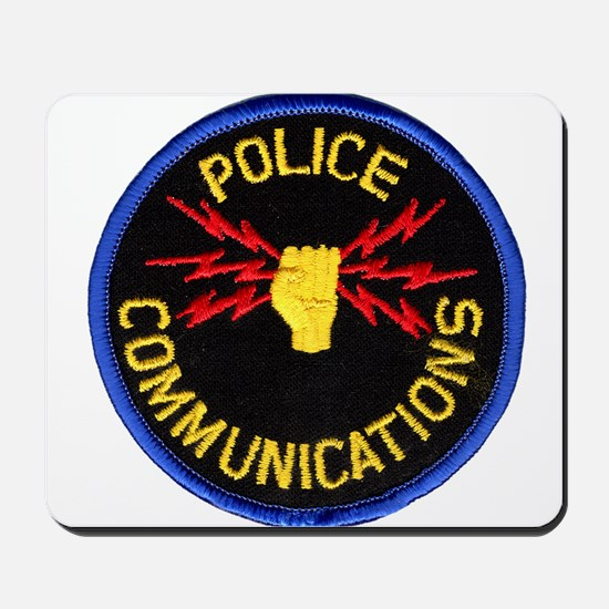 Police Communications Mousepad