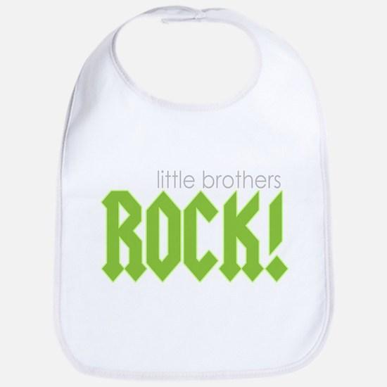 Little Brothers Rock Bib