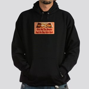 Give Me The Donuts Hoodie (dark)