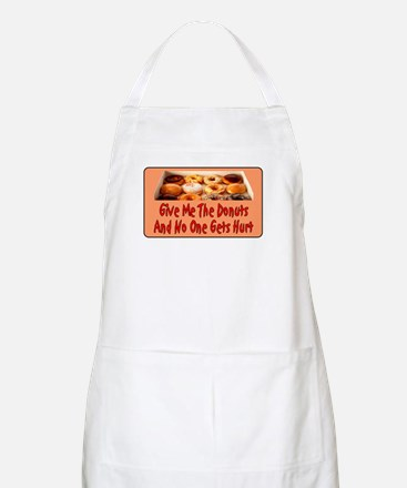 Give Me The Donuts BBQ Apron