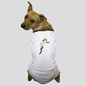 Leaping Siamese Cat Dog T-Shirt