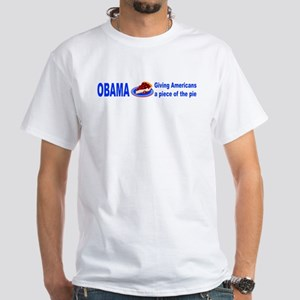 A piece of the pie White T-Shirt