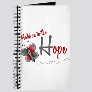 Hold On To Hope 1 Butterfly 2 GREY Journal