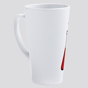 Lab flask, science, chemistrys 17 oz Latte Mug