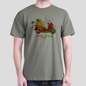 Santa Burgman 2008 T-Shirt
