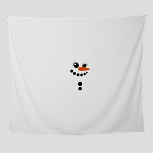 snowman winter Wall Tapestry