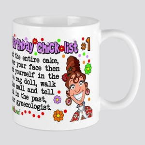 Twisted Sister Chicklist #1 Mug