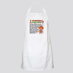 Twisted Sister Chicklist #2 BBQ Apron