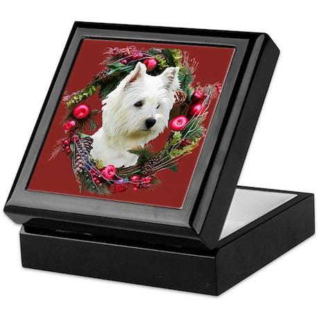 Warm Westie Wishes Keepsake Box