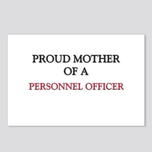 Proud Mother Of A PERSONNEL OFFICER Postcards (Pac
