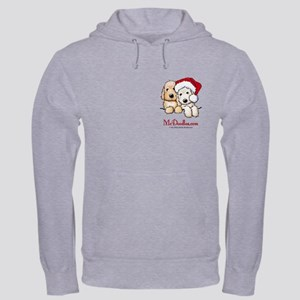 Holiday Pocket Doodle Duo Hooded Sweatshirt