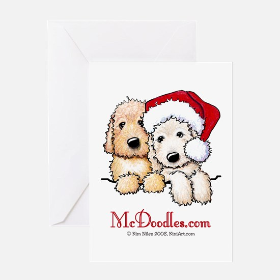 Holiday Pocket Doodle Duo Greeting Card