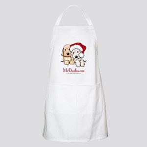 Holiday Pocket Doodle Duo Apron