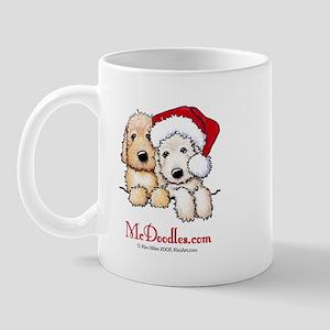 Holiday Pocket Doodle Duo Mug