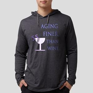 55th Birthday Aging Like Wine Long Sleeve T-Shirt