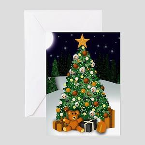Bear Christmas Greeting Card