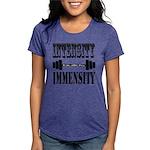 Bodybuilding Intensity Bu Womens Tri-blend T-Shirt