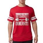 Bodybuilding Intensity Builds Mens Football Shirt