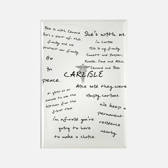 Carlisle Quotes Rectangle Magnet