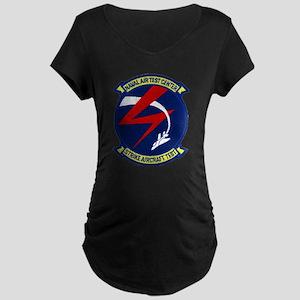 Strike Aircraft Test Center Maternity Dark T-Shirt