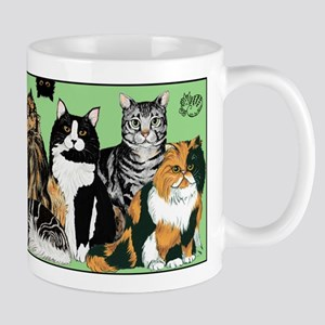 Cat party Mug - 11oz