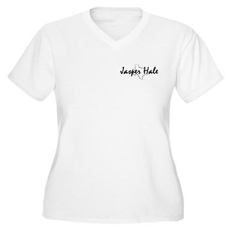 Jasper Quotes Women's Plus Size V-Neck T-Shirt