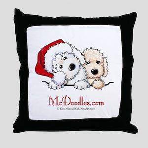 McD Holiday Pocket Duo II Throw Pillow