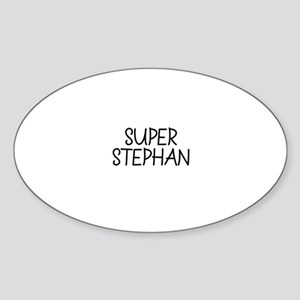 Super Stephan Oval Sticker