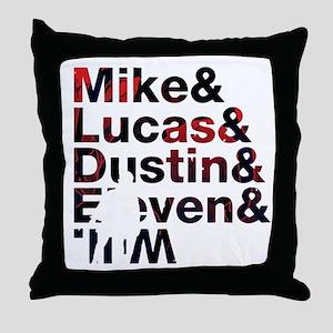 stranger things II Throw Pillow