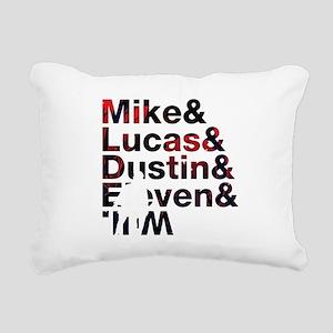 stranger things II Rectangular Canvas Pillow
