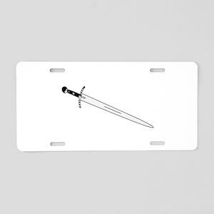 Sword ( Graphic ) Aluminum License Plate