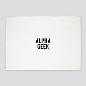 Alpha Geek 5'x7'Area Rug
