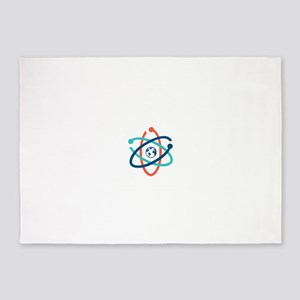 march for science 2017 5'x7'Area Rug