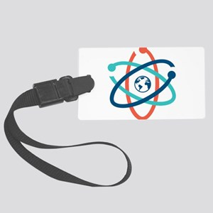 march for science 2017 Large Luggage Tag